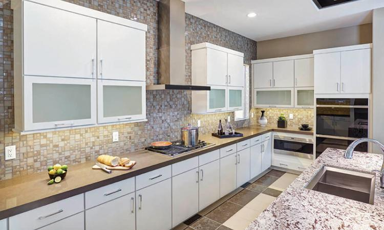 kitchen remodel using mid continent cabinetry