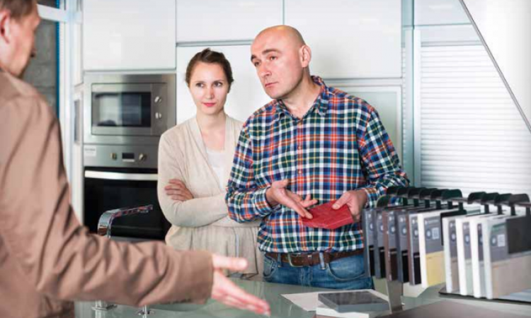 problem client-debating kitchen product choices