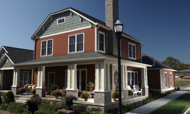Mixing and matching siding materials and styles has become a popular way for hom