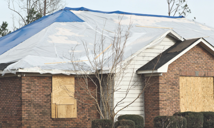 Storm chasers target homes in need of emergency repairs because homeowners may g