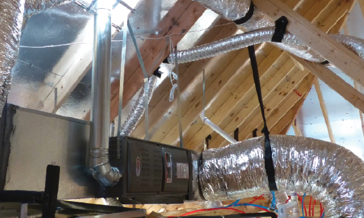 Rules for remodelers when installing flexbile ductwork