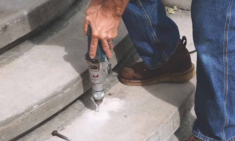 The LDT anchor is a high-performance anchor that cuts its own threads into concrete.