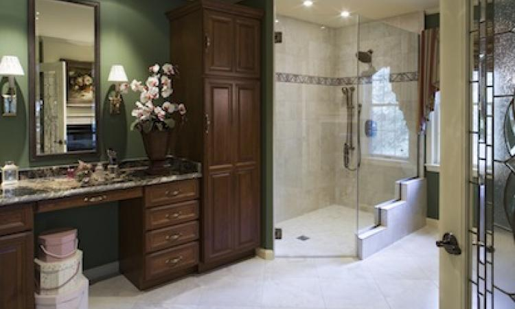 Universal Design Bathroom Remodel Hidden In Plain View