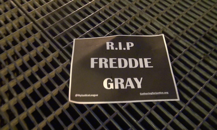 RIP Freddie Gray flyer