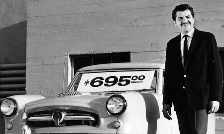 old-school car salesman--how not to sell in the modern age