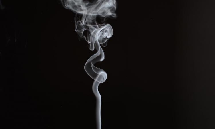 smoke to find air leaks