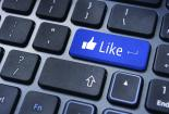 like button facebook update