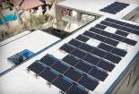 the LG solar array on this year's new american remodel