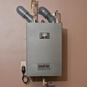 Intellihot tankless hot water system