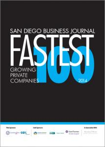 LaCantina Doors Named to San Diego Business Journal's 100 Fastest Growing Companies