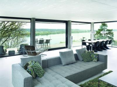 Hufcor Has Partnered With Monarch Gl Wall Systems To Introduce The By Line Of Movable Exterior And Sliding Doors