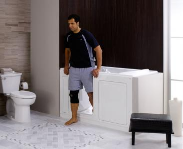 American Standard's line of walk-in baths, including the Liberation by American Standard collection, received the commendation based on its innovative design that allows users to bathe with comfort and safety.