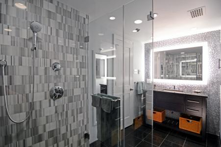 Glass top bathroom sinks - Houzz Study Examines Bathroom Trends Pro Remodeler