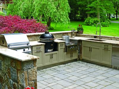 Danver Now Offers Custom Painted Color Options And Powder Coat Painted Wood  Finishes For Its Stainless Steel Indoor/outdoor Kitchens, Including Doors  And ...