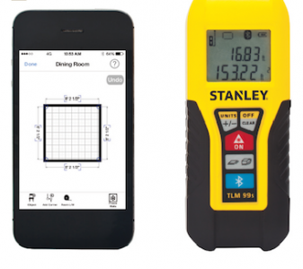 Dewalt S New Floor Plan App Can Be Used By Itself Or In Combination With The Stanley Tools Tlm99 Laser Distance Measurer To Fully Plan And Create Any Space