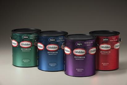 Glidden Paint Introduces Its Premium Interior And Exterior Featuring An Improved Formula With Enhanced Durability To Provide A Smooth
