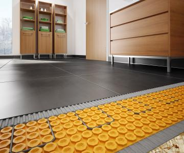 Captivating Schluter Ditra Heat Floor Warming System