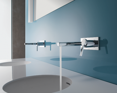 Bathroom Faucet Wall Mount kwc ava and ono wall-mounted bath faucets | pro remodeler