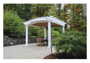100 best new products of 2014 outdoor living pro remodeler for Fypon pvc trellis system