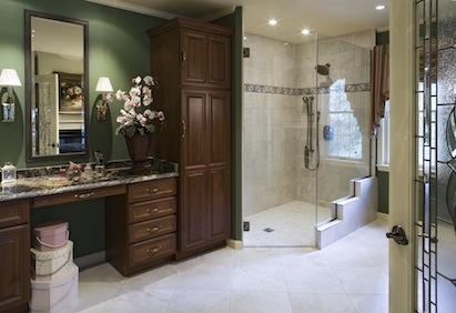 The Design And Workmanship Met The Silversteinsu0027 Hopes. The Bathroom Is  Discreetly Accessible And Boldly Beautiful. U201cIu0027m Happy As A Clam,u201d Says  Paula.