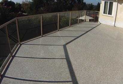 Ultra Cork roof membrane