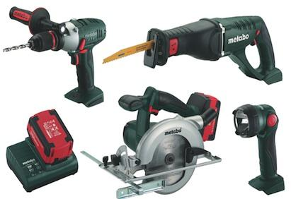 Metabo PowerMaster Series combo kit