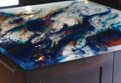 Superior ThinkGlass Artistic Glass Countertops