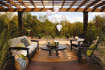 Trex, pergola kits, styles, finishes, new