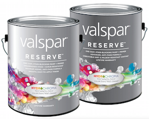 Valspar has two new additions to its line of Reserve paints.