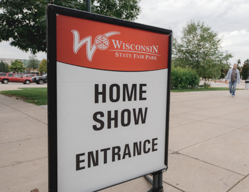 Wisconsin Home Show Entrance